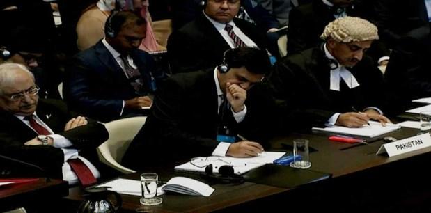 Pakistan tells UN court Indian on death row is a 'terrorist'