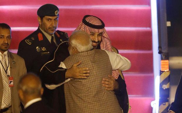 Saudi Crown Prince arrives in New Delhi