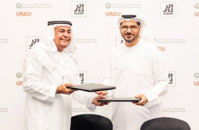 Aldar, UAE University to develop future leaders