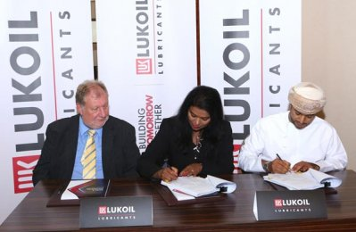 Lukoil Marine Lubricants signs contract with Oman Shipping