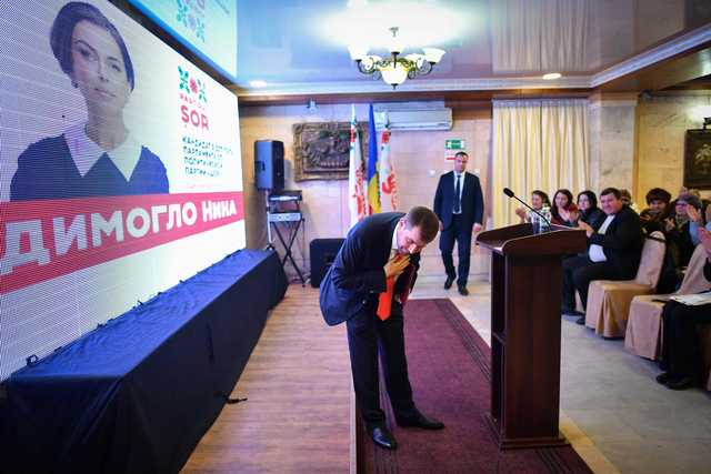 Convicted fraudster on track for seat in Moldova polls