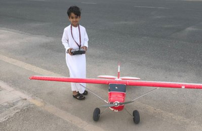 World's youngest pilot to represent UAE at Dubai Masters