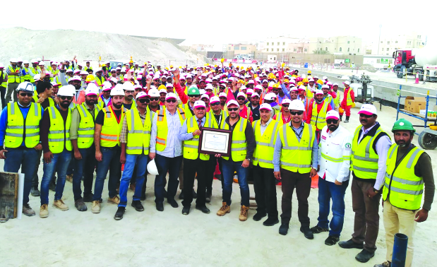 BJFCO achieves safety milestone