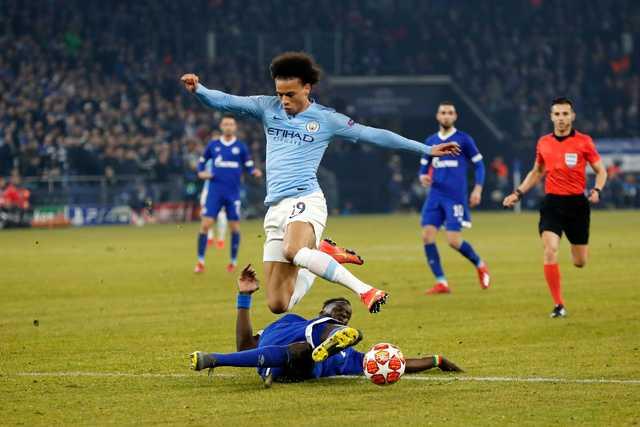 Sane feels for Schalke after Man City's comeback win