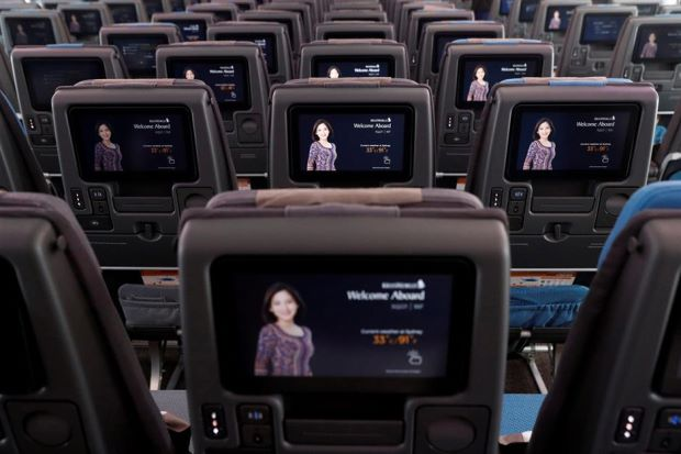 Singapore Airlines denies snooping with seatback cameras