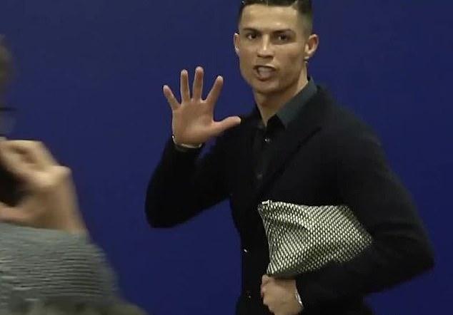 VIDEO: Ronaldo reminds Atletico of Champions League haul