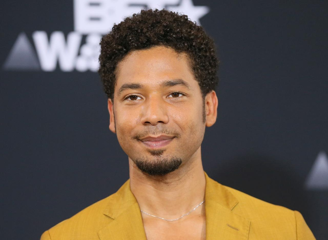 Fox may suspend Jussie Smollett after he is charged with filing false police report