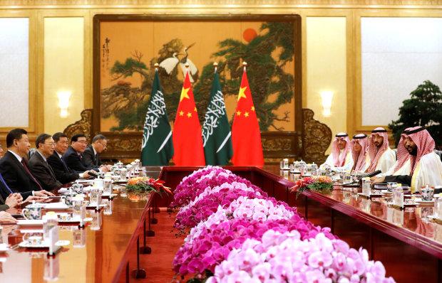 Saudi Arabia strikes $10 bln China deal