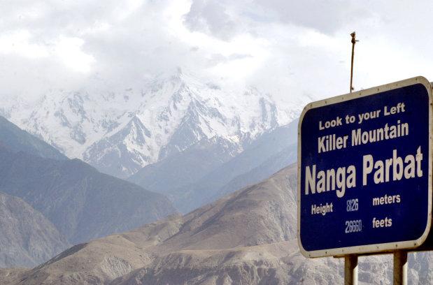 Body of Tom Ballard found on Pakistan's 'Killer Mountain'