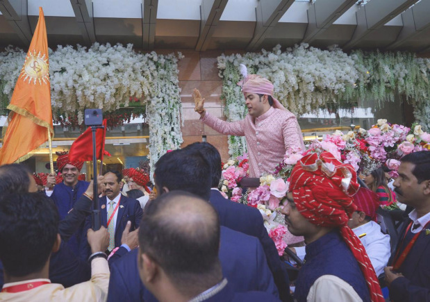 Akash and Shloka Ambani reception: Maroon 5 takes on the stage