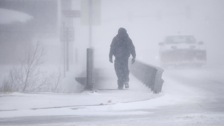 Bomb Cyclone Continues its March Across the Nation