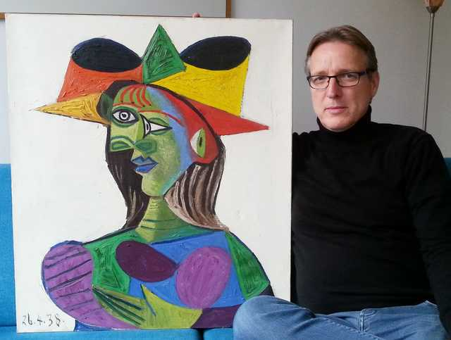 Stolen Picasso unearthed by 'Indiana Jones of art'