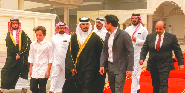 <p>Crown Prince of Jordan Prince Al Hussein bin Abdullah II yesterday returned after a short visit to Bahrain. He was seen off by Shaikh Mohammed bin Salman bin Hamad Al Khalifa at Bahrain International Airport.</p>