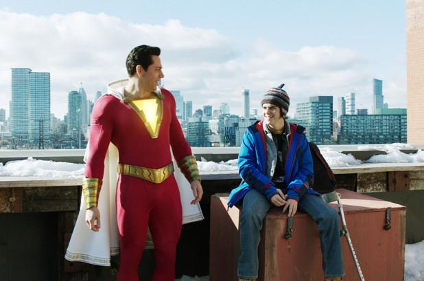 SHAZAM! - Finally, a refreshingly funny superhero from DC's dark world!