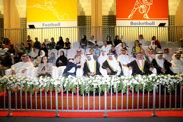 <p>Dignitaries and guests at the opening ceremony. (Pictures by Sadiq Marzooq) </p>