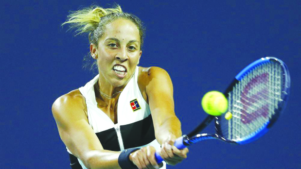 Madison Keys tops Sloane Stephens to reach semis in Charleston
