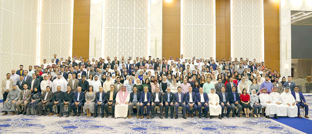 Long-serving staff of financial company Bahrain Credit were honoured at an annual party at the Gulf Hotel Bahrain Convention and Spa. Bahrain Commercial Facilities Company chief executive Dr Adel Hubail praised the hard work and commitment of the staff to the development of the company. Employees who served the company for 10, 15 and 20 years were honoured. Above, the staff with senior management at the event