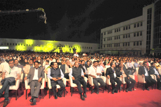Members of the expat community from Kerala yesterday paid tribute to Bahrain, a gesture of gratitude to their home away from home. The event 'Harmonious Kerala', organised by the Gulf Madhyamam daily at the Indian School's Isa Town grounds, aimed at spreading the message of unity. It was organised as a gesture of thanks for the support the community received from the people of Bahrain, citizens and expats alike, when unprecedented floods hit the south Indian state in August. The highlight of the cultural night was the presence of Indian movie icon Mammootty along with many other celebrities.