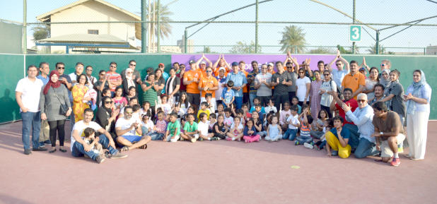 Hundreds of children aged between two and 14 years took part in an event that aimed to encourage outdoor sports. Titled 'Digital detox', it was organised by the Royal Bahrain Hospital in co-operation with the Bahrain Tennis Club (BTC) and Athletic Kings at the BTC in Juffair. The free camp featured various activities and workshops for children which were also attended by parents. Above, participants at the event.