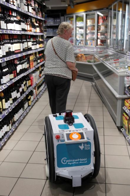 Tech Talk: May the shopping be with you: French supermarket