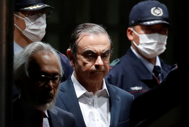 Japanese Court OKs Ghosn's Release on Bail, Rejects Prosecutors' Appeal