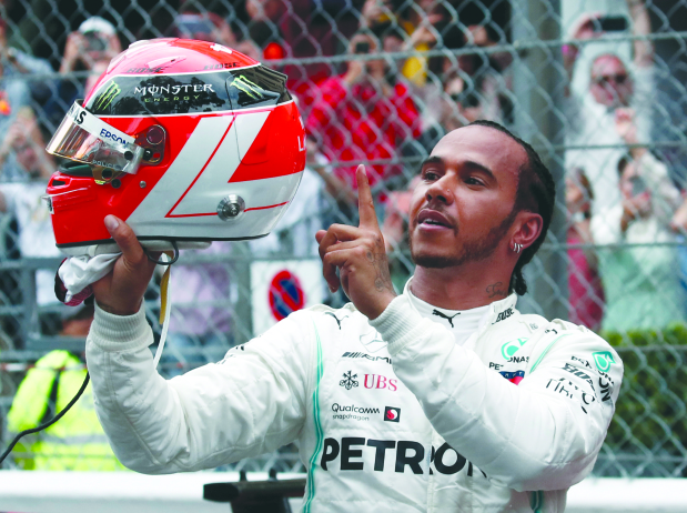 Mercedes in sight of seventh heaven