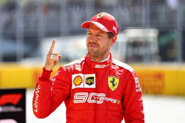 Vettel beats Hamilton for pole