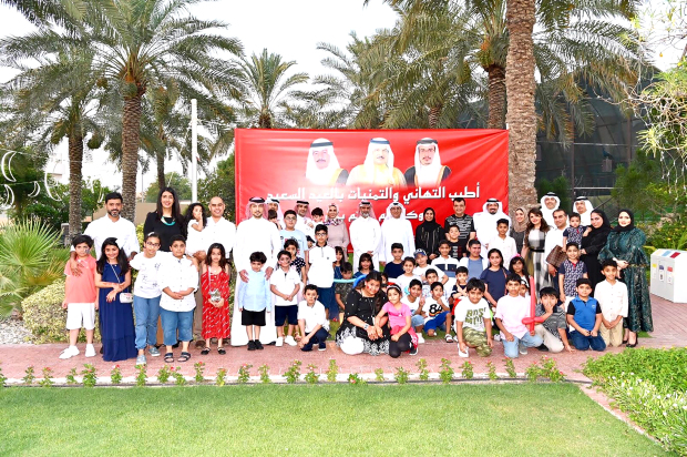 <p><em>GPIC officials, employees and their families at the event</em></p><p>The Gulf Petrochemical Industries Company (GPIC) organised Eid celebrations for employees and their families. The event was held at the GPIC Club and included several fun activities and competitions.&nbsp;</p><div>Present were president Dr Abdulrahman Jawahery, general manager of corporate support Fadhel Alansari, labour union deputy chairman Ghassan Al Rayes and company officials.&nbsp;</div>