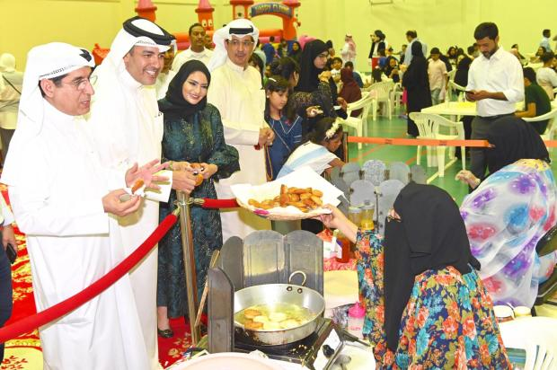 <p><em>Traditional food sold at the event</em></p>