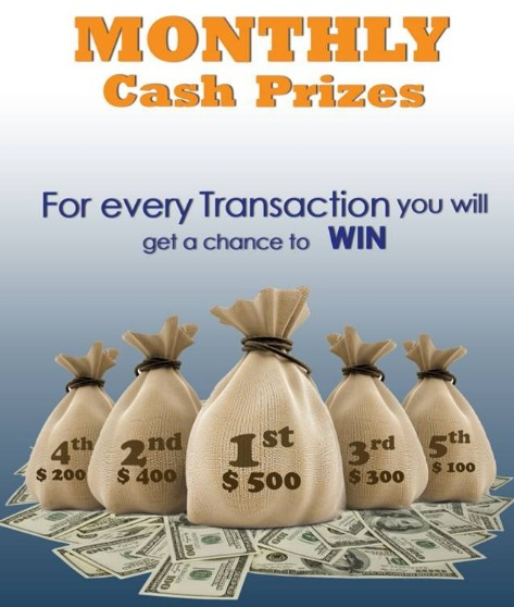 Zenj Exchange lines up cash prizes for lucky customers