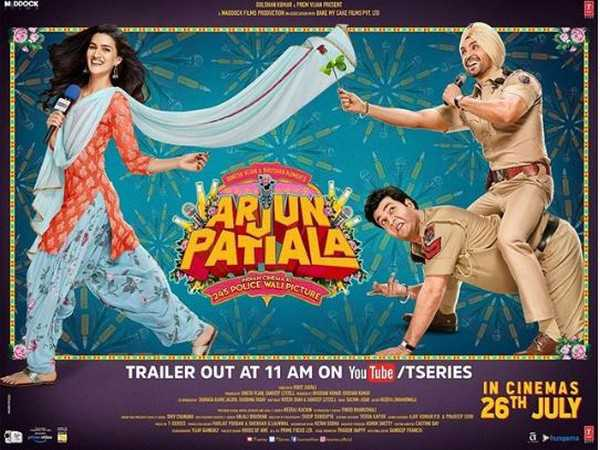 Trailer of comic drama 'Arjun Patiala' out now
