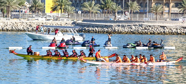 Decks cleared for dragon boat racing