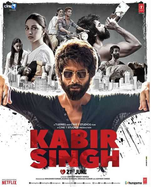 'Kabir Singh' becomes Shahid Kapoor's first solo film to cross Rs100cr mark