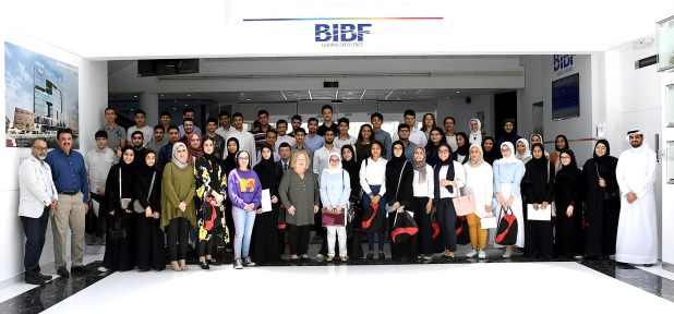 Sixty pre-selected students took part in an induction session organised by the Crown Prince's International Scholarship Programme (CPISP). The event, at the Bahrain Institute of Banking and Finance (BIBF), Manama, was part of its candidacy programme – the last stage of its process to award 10 scholarships for its 2020 intake. CPISP director Dr Cynthia Gessling congratulated the students for reaching the final stage of selection. Students will complete specialised courses on critical thinking, academic writing, leadership and communications. They will also receive personality and career path assessments, preparation courses for exams and a level three certificate in team leading from the UK-based Chartered Management Institute (CMI). CPISP will announce the names of recipients early next year, based on their grades, results on critical thinking and leadership courses, and test scores. Above, students with CPISP and BIBF officials at the briefing.