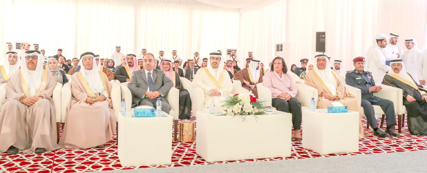 <p><em>Ministers and officials at the event. </em></p>