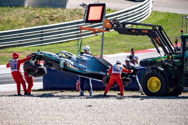 Leclerc on top in Austria practice; Bottas and Verstappen crash