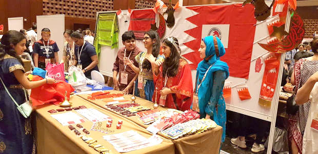 <p>A BSB stall at the event.</p>