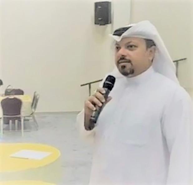<p>Mr Al Zayani addressing participants.</p>