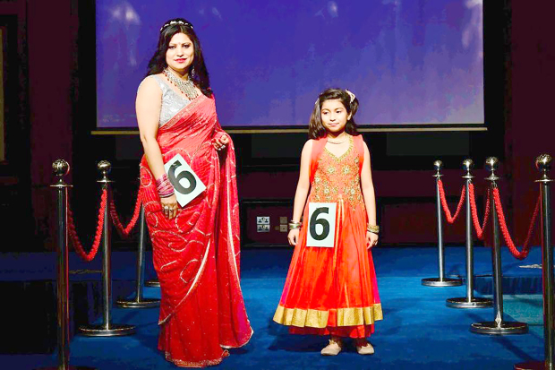 <p>The Indian Ladies Association held a unique fashion show as part of its monthly meeting at the Crowne Plaza Convention Centre. The fun-filled ramp walk was divided into three categories: Mom and Me, Solo and Granny, Mom and Me. Above, contestants in the 'Mom and Me' parade.&nbsp;</p>