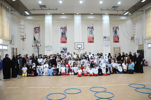 <p>Nearly 2,800 students are taking part in a summer camp launched by Education Minister Dr Majid Al Nuaimi. Fourteen programmes have been lined up for boys and girls, aged eight to 14, who are gaining skills in education, sport, art, literature, Islamic studies and technology. For the first time high school students have been enrolled into the camp. Above, camp participants with officials.</p>