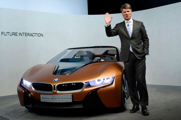 BMW says CEO will not seek contract extension after 2020