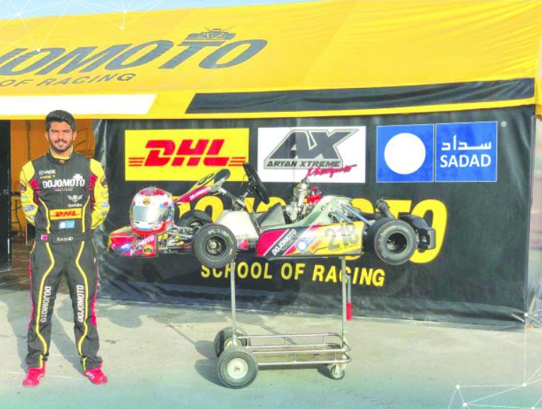 Sadad backs rising karting racer Al Muammari
