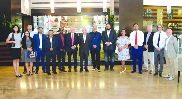A networking lunch for the Bahrain media community was hosted by Bahrain World Trade Center (BWTC) and Moda Mall to acknowledge support and positive exposure for the two iconic properties. Hosted at Abd El Wahab restaurant in Moda Mall, the event was attended by BWTC and Moda Mall real estate management head Paul Nathan, representatives of the two properties' new managing agent, Savills led by senior asset manager Donald Bradley, media professionals and social media influencers.