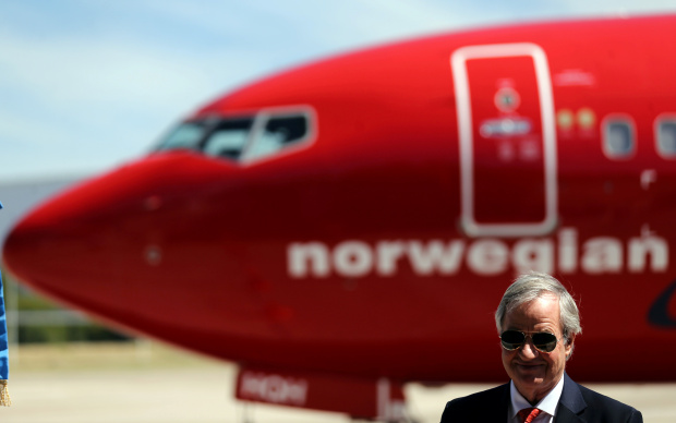 International Business: Norwegian Air CEO and co-founder steps down