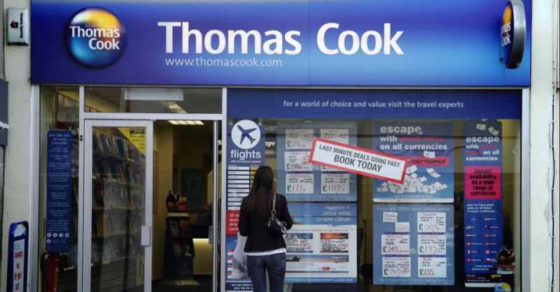 Thomas Cook set for £750mln bail-out from Chinese backer Fosun