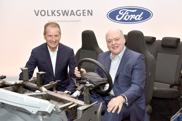 Ford and VW team up to make electric cars