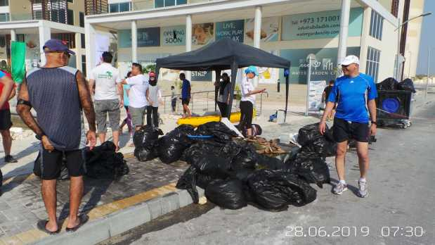 <p><em>Some of the trash that was collected.</em></p>