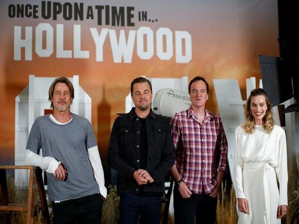 Brad Pitt teases Leonardo DiCaprio about 'Titanic' door scene