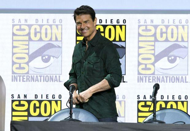 Cruise, Schwarzenegger revive 80s Hollywood classics at Comic-Con
