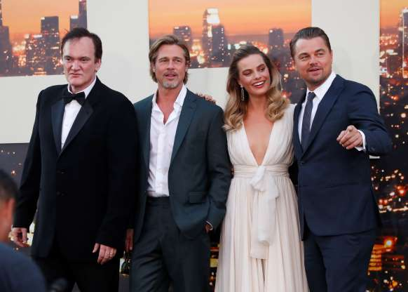 Leonardo DiCaprio, Brad Pitt attend 'Once Upon A Time in Hollywood' premiere